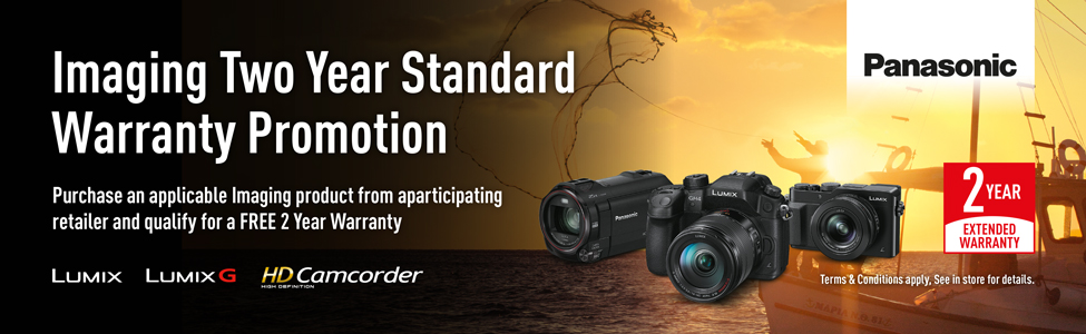Lumix 2 Year Warranty on Cameras and Camcorders