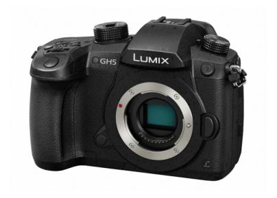 DC-GH5EB-K DSLM (Digital Single Lens Mirrorless) Camera featuring 4K/60p Video Recording and 6K PHOTO