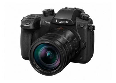 DC-GH5LEB-K DSLM (Digital Single Lens Mirrorless) Camera featuring 4K/60p Video Recording and 6K photo